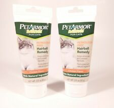 Lot 2 Petarmor Naturals Petroleum Free Hairball Remedy For Cats, 3 Oz Exp 04/20