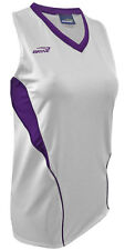 Xl Racer Back Purple/White Msrp $39 Dry Weave Athletic Shirt 40-42 Bust Workout