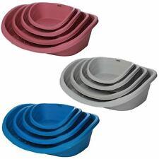 Armadillo Plastic Heavy Duty Oval Pet Dog Puppy Bed Basket Tough Waterproof