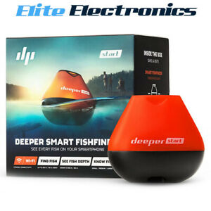 Deeper Smart Fishfinder App Support for Casual Fishing DP2H10S10