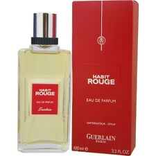 Habit Rouge by Guerlain Eau de Parfum Spray 3.3 oz