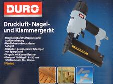 Druckluft Nagel & Klammergerät Druckluftnagler einstellbare Schlagtiefe / NEU!
