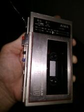 AIWA HS-J02 AS-IS VINTAGE AM/FM CASSETTE PLAYER RECORDER