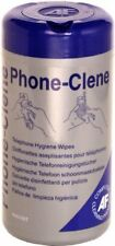 AF Phone-Clene Wipes Cleaning for Telephone Bactericidal Wipes Ref PHC100T [Tub
