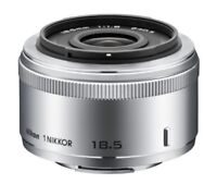 Nikon single focus lens 1 NIKKOR 18.5 mm f / 1.8 Silver Nikon CX format only F/S