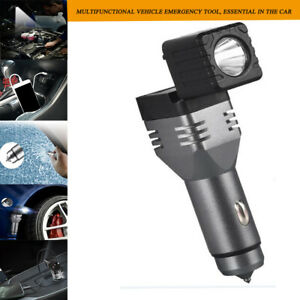Magnetic Work Light Flashlight Inspection Lamp Car Charger Broken Window hammer