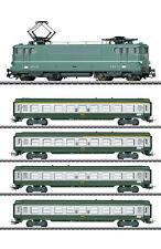 "Märklin H0 30380-S Schnellzug mit E-Lok BB 9200 der SNCF ""Tin Plate"" - NEU + OVP"