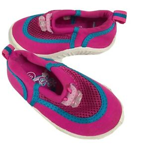 Speedo Kids Water Shoes Small 5-6 Toddler Pink Closed Toe Beach Girls Summer