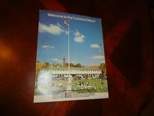 WELCOME TO FORT LEONARD WOOD, MISSOURI, U S ARMY, 1969, BOOK, MAPS, PHOTOS BOONE