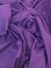 "Purple Mat Lycra Spandex 4 Way Stretch Dance Wear,60"" Wide £6.99 Per Metre"