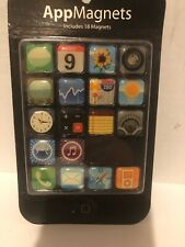 18Pieces/Pack Iphone Fridge Magnets App Apple Apps Icon