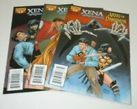 Xena Army of Darkness What Again? 2 3 4 Comic LOT Dynamite 1st Print First Ash