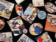 Handyman Vintage Adds Fabric Fat Quarter - rare