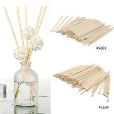 100 Pcs Premium Rattan Fragrance Oil Reed Diffuser Sticks Replacement Refill New