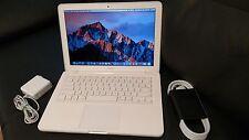 """Apple MacBook 13.3"""" A1342 2010 2.4Ghz 250GB HD 4GB RAM MC516LL/A NEW OS X SIERRA"""