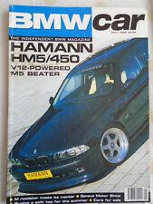 BMW Car May 1998 Hamann HM5/450, M Roadster