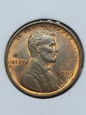1909 VDB Copper Lincoln Wheat Cent