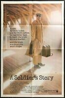 A SOLDIER'S STORY Denzel Washington ORIG 1984 One Sheet  MOVIE POSTER 27 x 41 -
