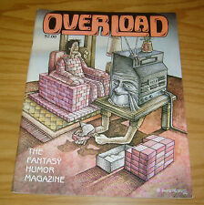 Overload #5 FN underground adult fantasy/humor magazine - last issue 1981