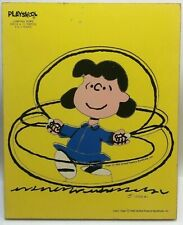 Vintage Wooden Puzzle LUCY Peanuts Gang Playskool
