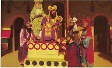 "Vintage Postcard - Black Hills Passion Play - ""Judas Pleading w/Priests"" - Vg"