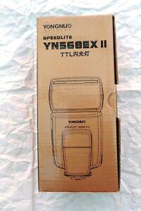 Flash Yongnuo Speedlite YN568EX II Canon  + YN622c E-TTL ricetrasmettitore