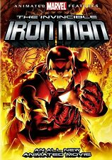 USE DVD // MARVEL ANIMATED FEATURE -THE INVINCIBLE IRON MAN - 83 min - SLIPCOVE