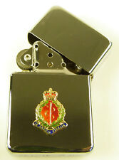 ROYAL ARMY MEDICAL CORPS RAMC BADGED WINDPROOF CHROME PLATED LIGHTER