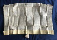 [1666] Handwritten Vellum Deed Document