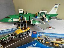Lego City Cargo Plane Plus Accessories - Full Instructions - No Box - #7734