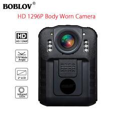 Boblov Polizei Körper getragen Kamera DVR HD 1296P Nachtsicht 170 ° NT96650