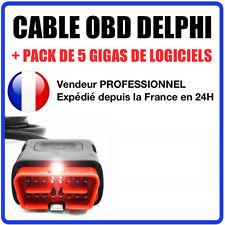 Câble de remplacement OBD2 - Compatible VALISE DELPHI / DS150 DS100
