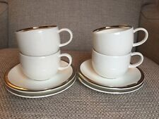 Wedgwood Plato Cups And Saucers X 4