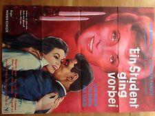 Luise Ullrich a student went over Eva Bartok Paul Dahlke Cinema Poster