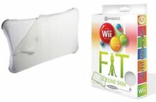 Nintendo Wii Fit Silicone Case Skin Cover Protection Clear Balance Board