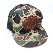 Ducks Unlimited Men S Camouflage Trucker Hats For Sale Ebay