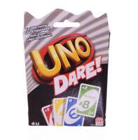 Mattel Games UNO Dare! (türkisch & griechisch) Kartenspiel Spiel ab 7 Jahren