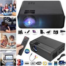 LED Full HD 1080P Projektor Audio Vdieo Multimedia Heimkino HDMI  Home Beamer