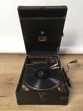 HMV His Master's Voice Model 101 Portable Gramophone / Phonograph