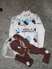 Odlo Team AG2R Focus Winter Set Gr. M thermo Jacke + thermo bib tight