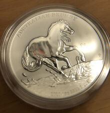 2020 Australian Brumby 1 oz Silver Coin BU (In Stock)