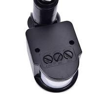 LED Outdoor 110~220V Infrared PIR Motion Sensor Detectors WallLight Switch 140°F