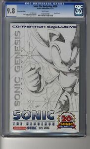Sonic the Hedgehog (1993) # 229 NYCC Sketch (Spaziante) - CGC 9.8 White Pages