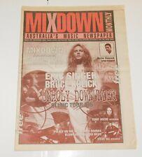 KISS Band Eric Singer Bruce Kulick Mixdown Australia Aussie Newspaper Magazine