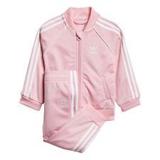 Adidas Girl's Originals Superstar Track Suit Light Pink DN8165