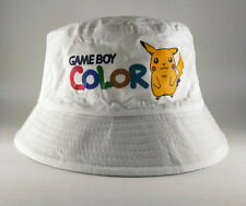 Bob lorenzo game boy color bucket hat chapeau retro 90s pikachu pokemon cap
