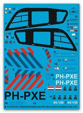 Peddinghaus 2273 1/14 T-Rex 450 EC 135 Niederländischer Polizeihubschrauber PH-P