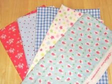 Cath Kidston Stanley Dog Shooting Star Fabric Patchwork Squares Quilting Bundle