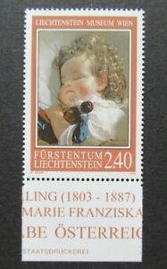 2008 LIECHTENSTEIN 2,40 MUSEUM WIEN VF MNH B351.36 START $0.99