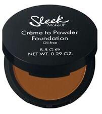 Sleek Creme to Powder Foundation Make Up Oil Free Choose your Shades